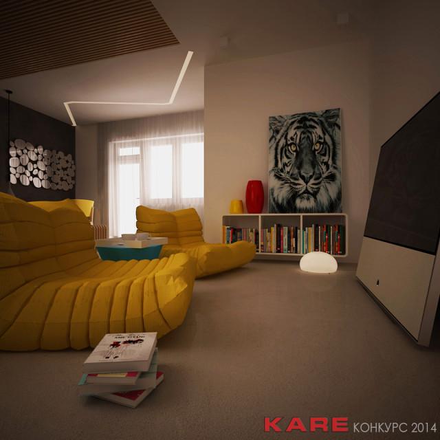 Рендер спалня 3